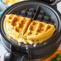Waffle Iron Quesadillas Recipe