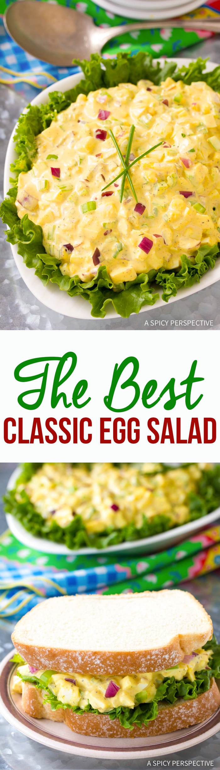 The BEST Classic Egg Salad Recipe