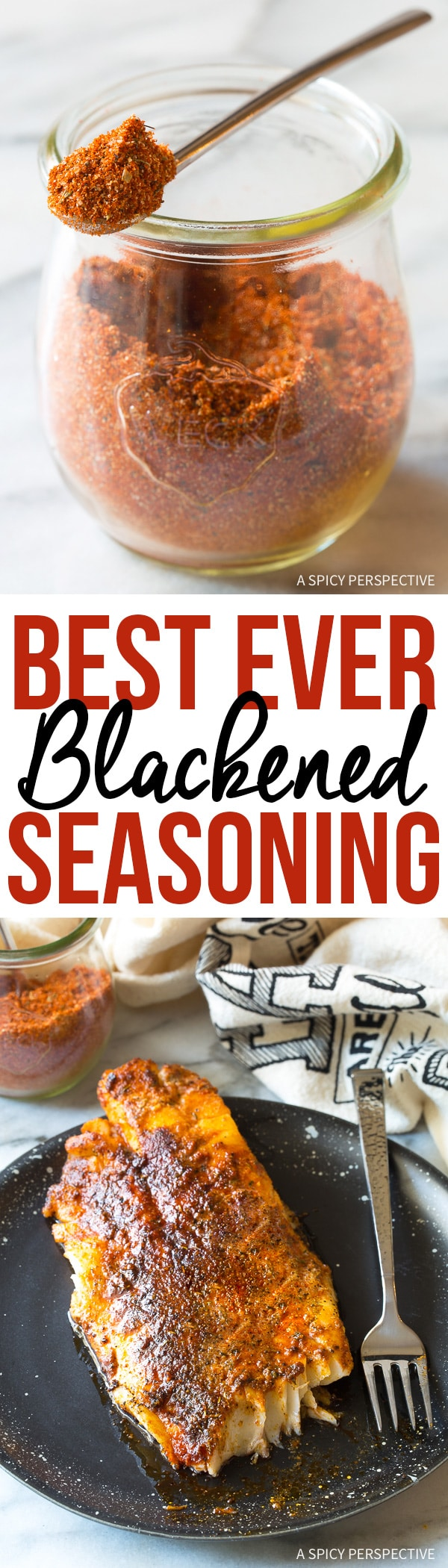 The Best Ever Blackened Seasoning (Cajun Spice Blend)