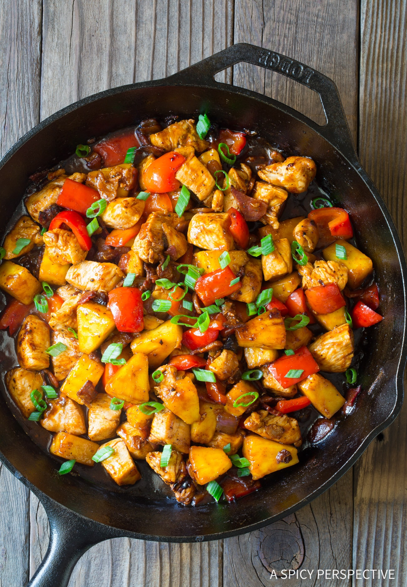 One-Pot Hawaiian BBQ Chicken Skillet Recipe