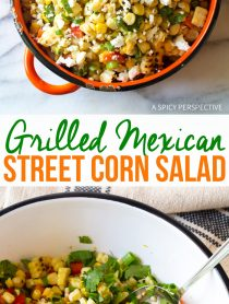 Zesty Grilled Mexican Street Corn Salad (Esquites)