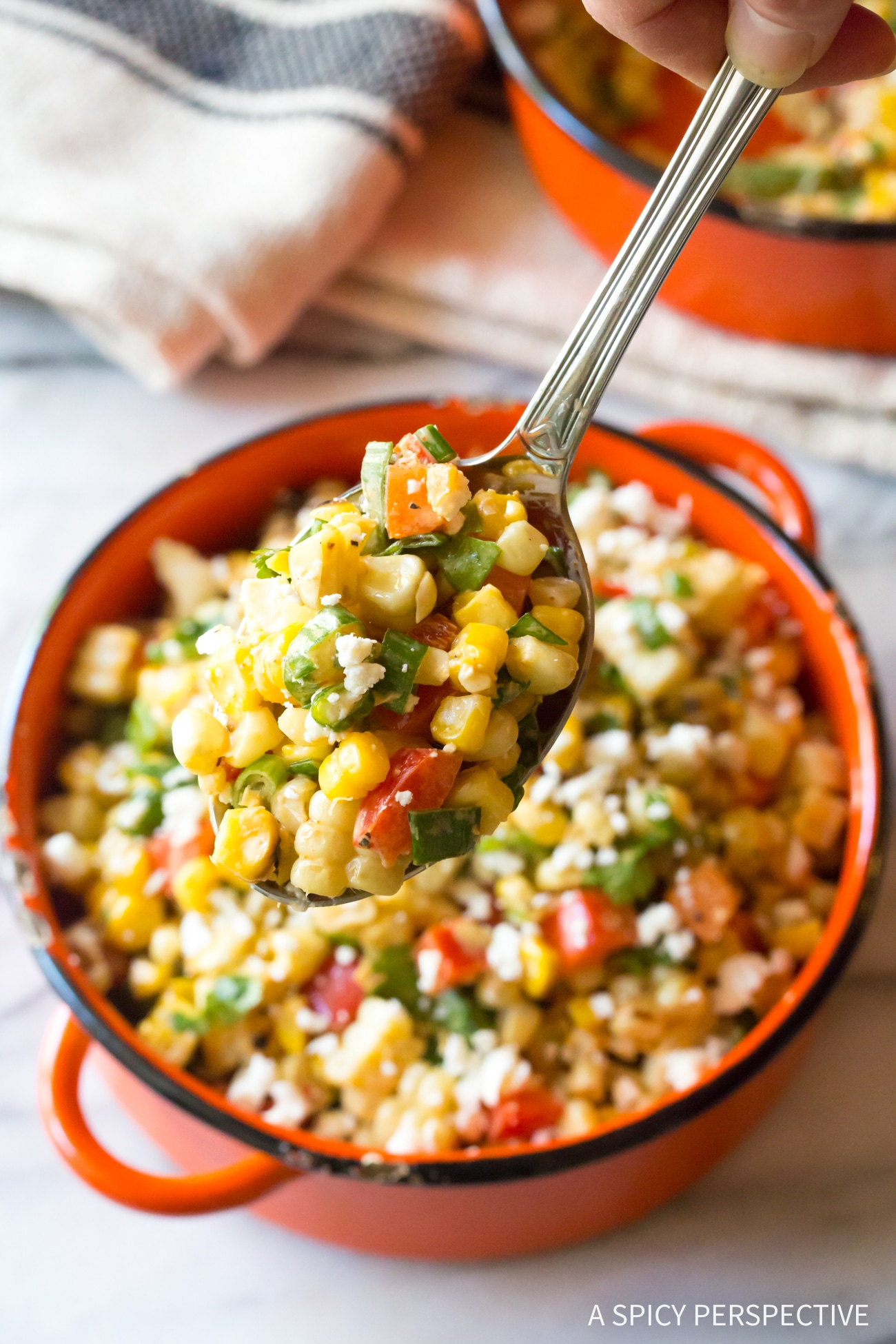 Perfect Grilled Mexican Street Corn Salad