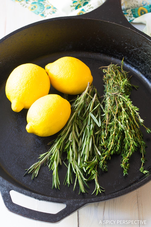 Making Perfect Herb Roasted Chicken Thighs Recipe #ASpicyPerspective #Paleo #Ketogenic #Keto #GlutenFree
