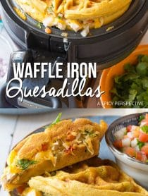Easy Waffle Iron Quesadillas Recipe