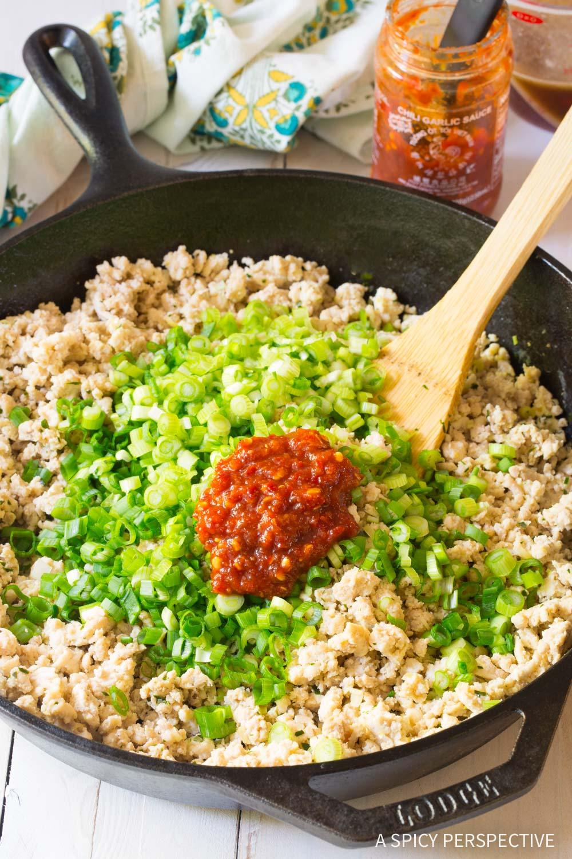 How To Make Keto Thai Larb Rolls Recipe #ASpicyPerspective #ketogenic #paleo