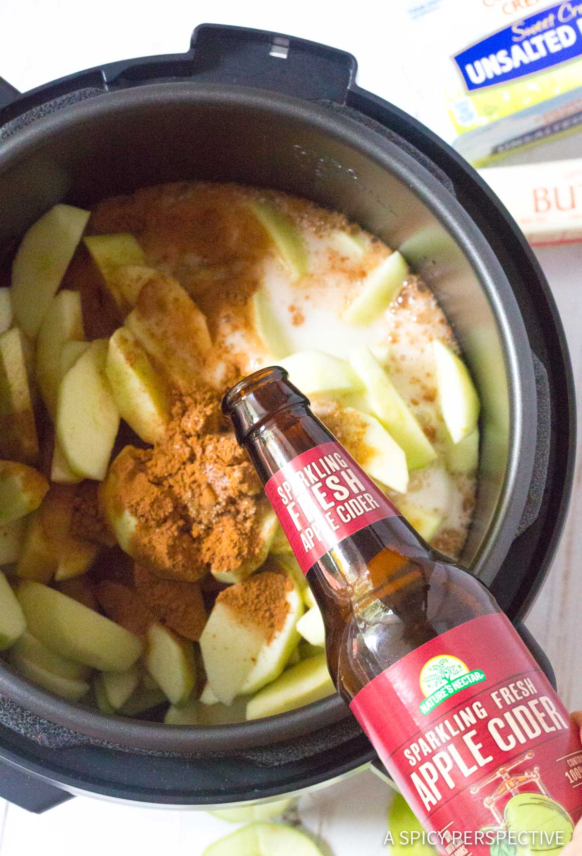 How To: Pressure Cooker Spiced Apples Recipe #ASpicyPerspective