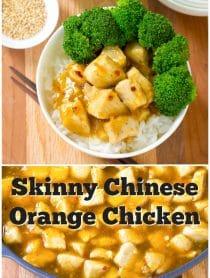 Best Skinny Chinese Orange Chicken Recipe #ASpicyPerspective