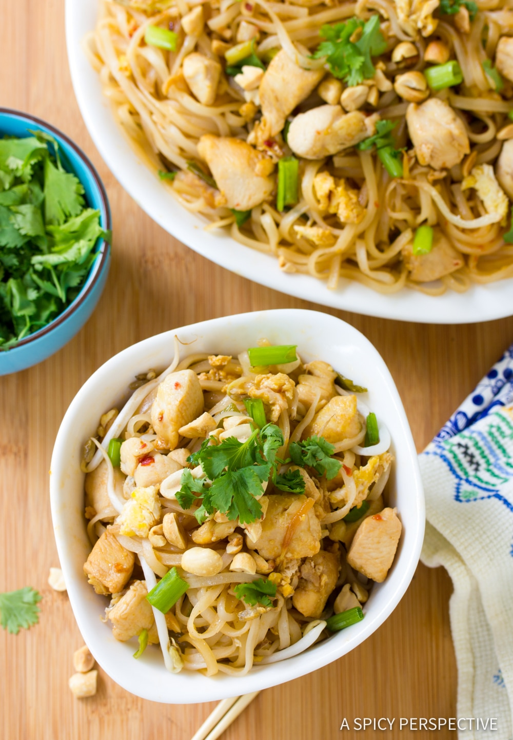 Best Easy Chicken Pad Thai Recipe #ASpicyPerspective