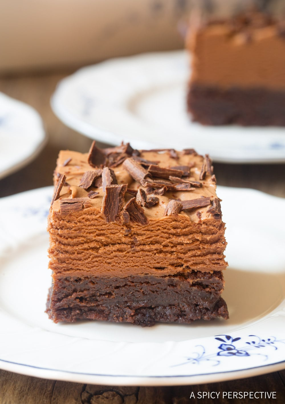 The Best French Silk Chocolate Brownies Recipe #ASpicyPerspective