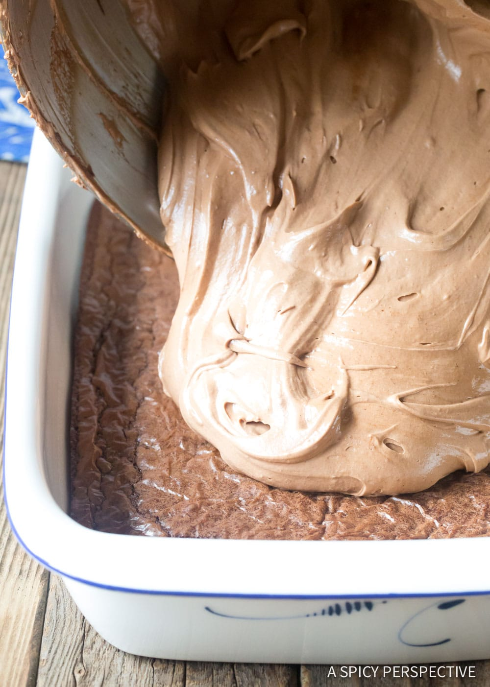 How to Make French Silk Chocolate Brownies Recipe #ASpicyPerspective