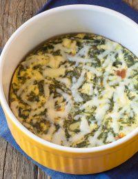 Instant Pot Keto Crustless Quiche Recipe #ASpicyPerspective