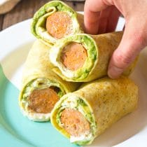 Keto Breakfast Egg Wrap Recipe #ASpicyPerspective #LowCarb