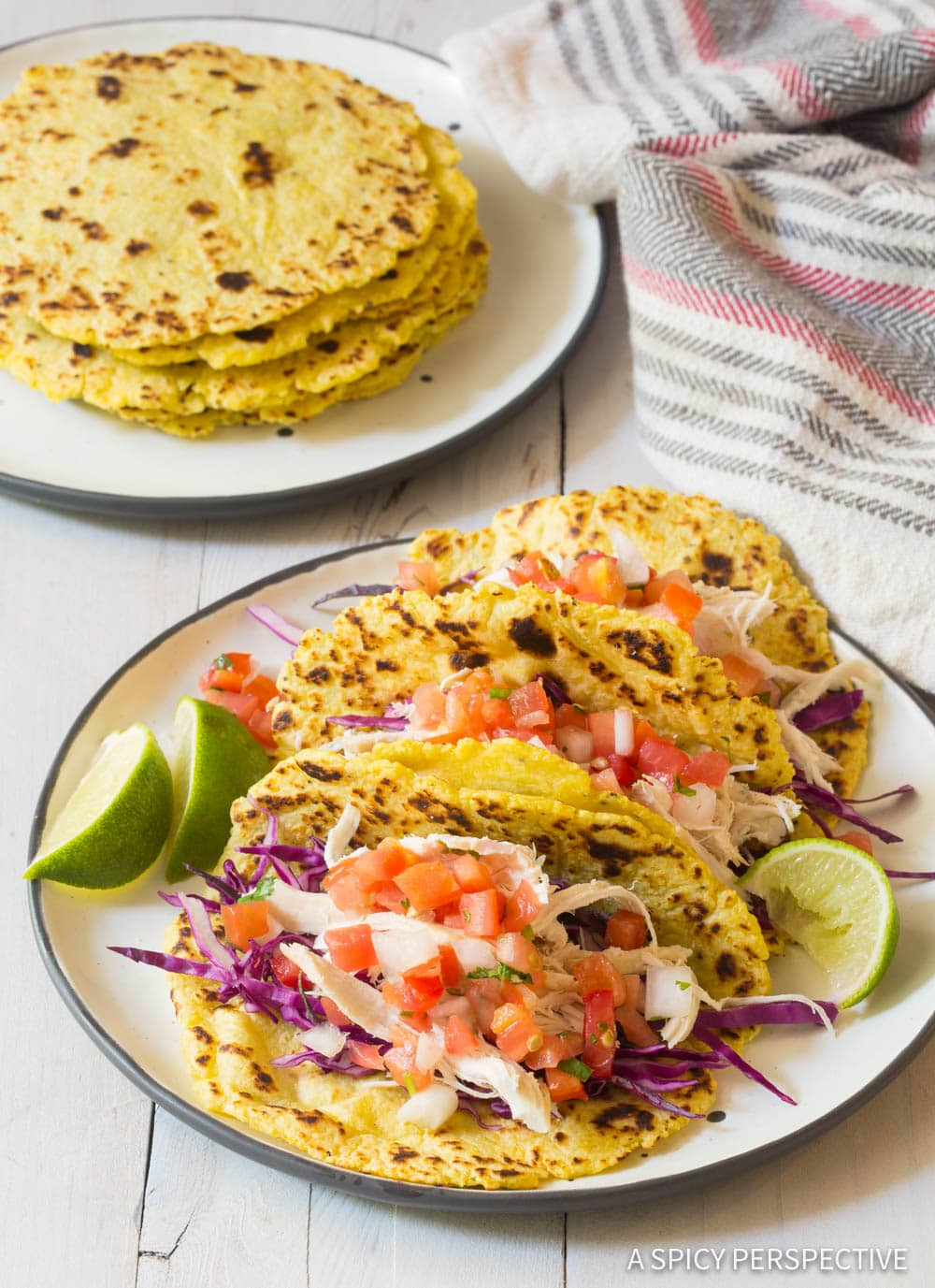 Awesome! Magic Plantain Tortillas Recipe #ASpicyPerspective #Paleo #GlutenFree #GrainFree #DairyFree