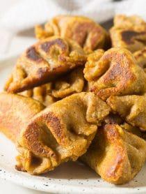 Paleo Chinese Dumplings Recipe (Potstickers) #ASpicyPerspective