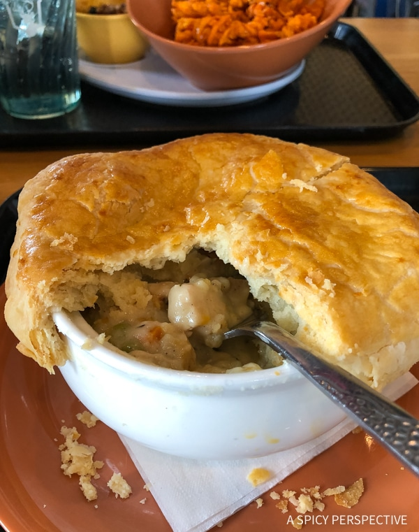 Four Points Lodge - Mountaintop dining ; make sure to order the turkey pot pie or the buffalo chili!