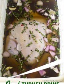 The Best Turkey Brine Recipe #ASpicyPerspective