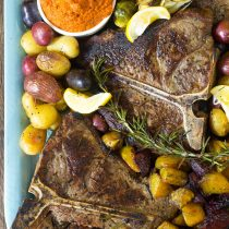 Bistecca alla Fiorentina Recipe (Florentine Steak Platter)