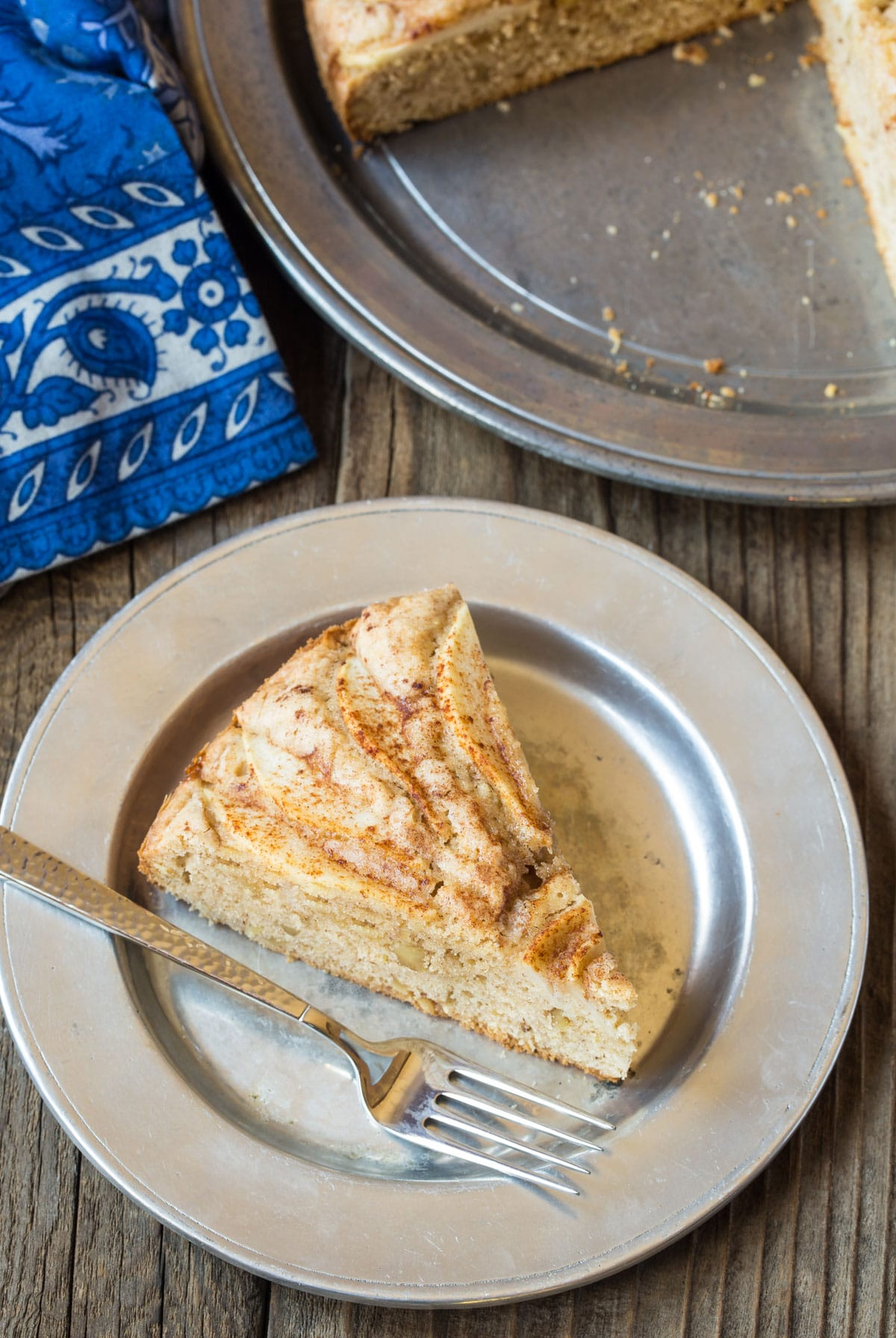 Moist Spiced Walnut Pear Cake Recipe #ASpicyPerspective #holiday #christmas