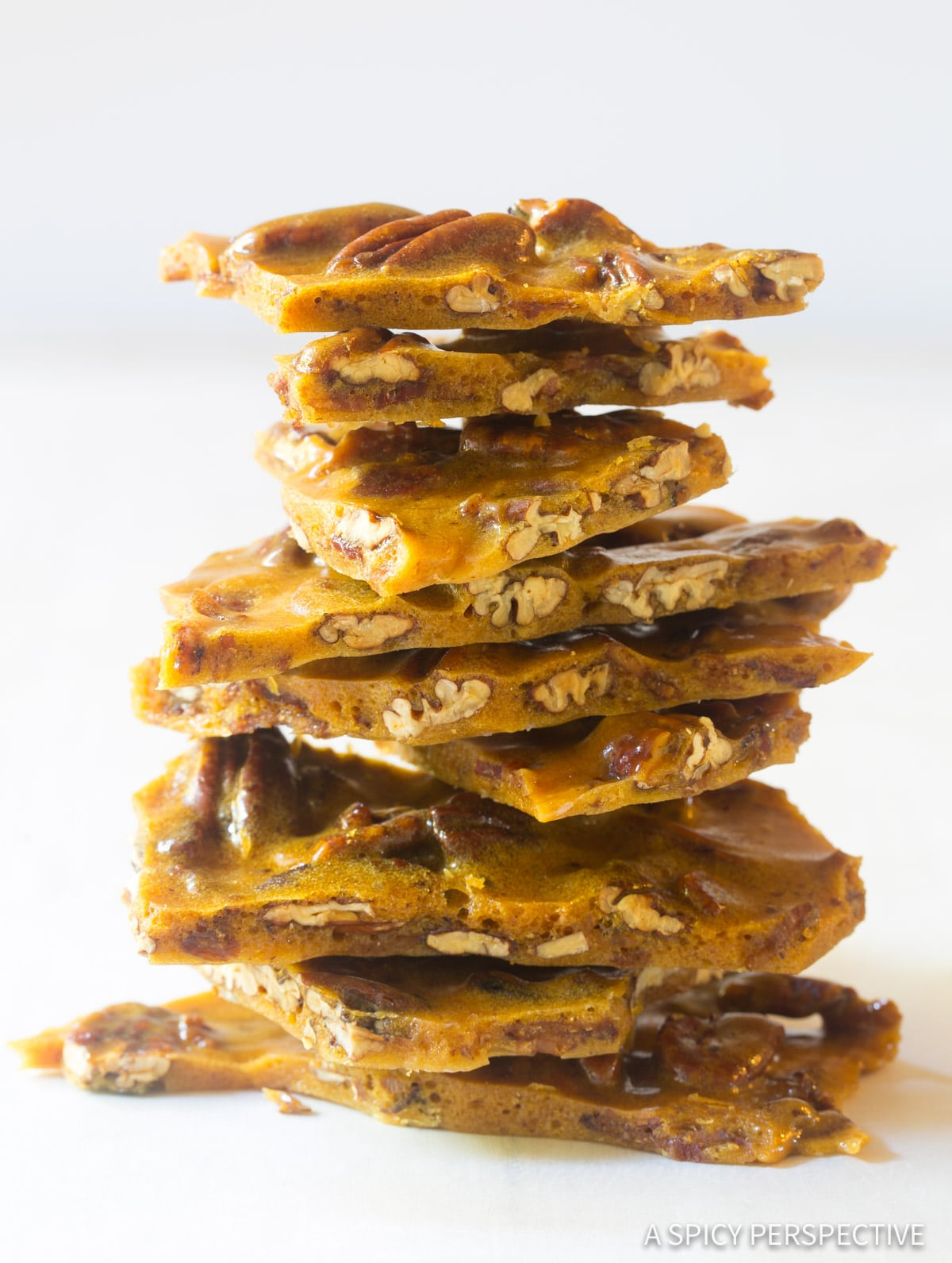 Bacon Pecan Brittle Recipe #ASpicyPerspective