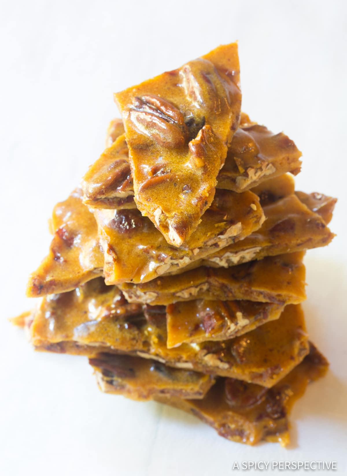 Simple Bacon Pecan Brittle Recipe #ASpicyPerspective