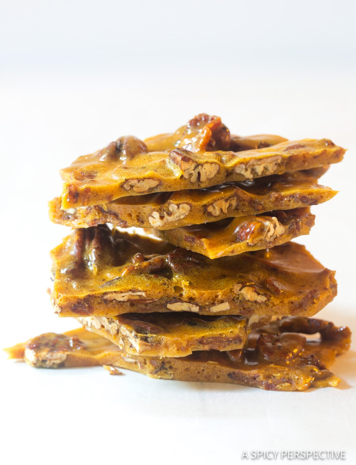 Perfect Bacon Pecan Brittle Recipe #ASpicyPerspective