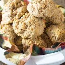 Easy Cinnamon Biscuits #ASpicyPerspective