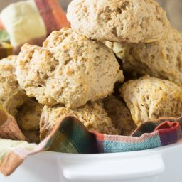 Easy Cinnamon Drop Biscuits Recipe #ASpicyPerspective