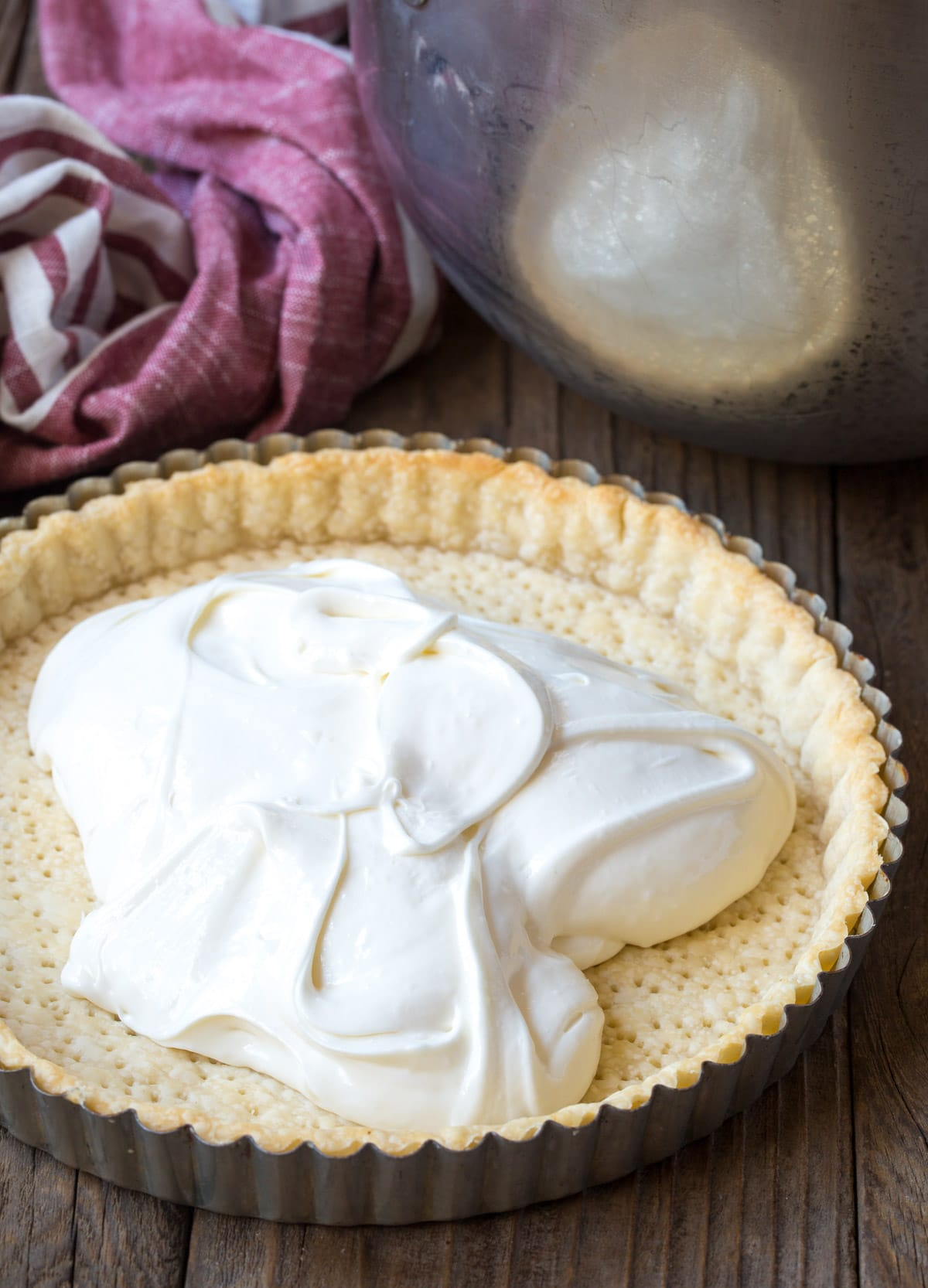 Making Pomegranate Cream Tart Recipe #ASpicyPerspective #holiday #pomegranaterecipe