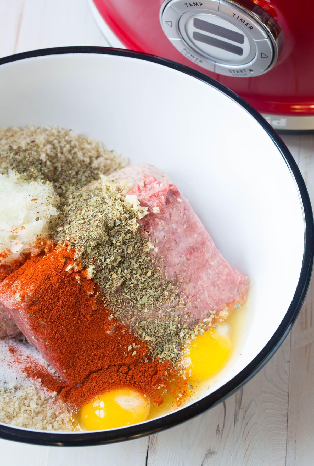 Making Slow Cooker Cocktail Meatballs Recipe - (Crock Pot Meatballs) #ASpicyPerspective #meatballs #slowcooker #crockpot #meatballs