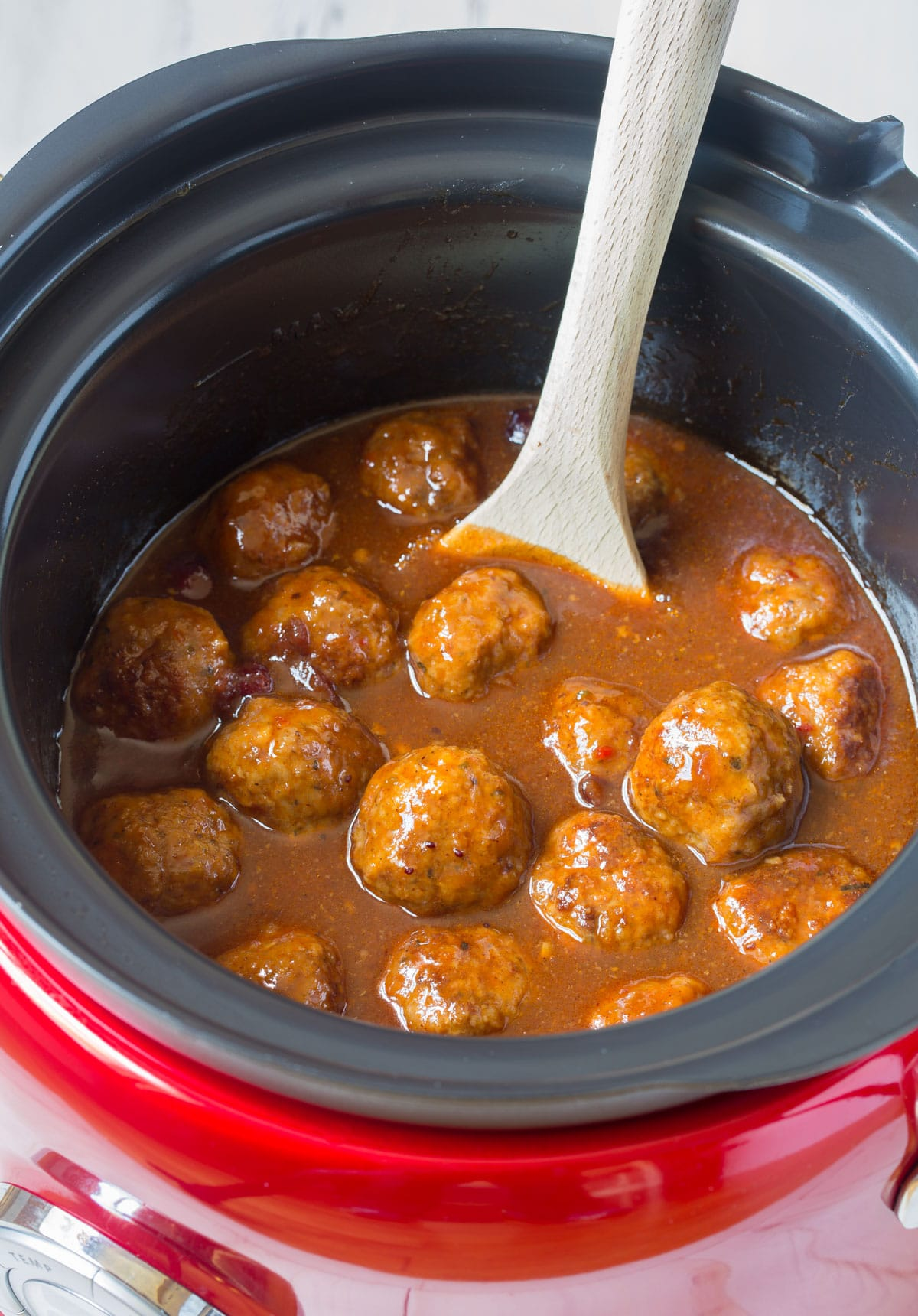 Slow Cooker Cocktail Meatballs A Spicy Perspective