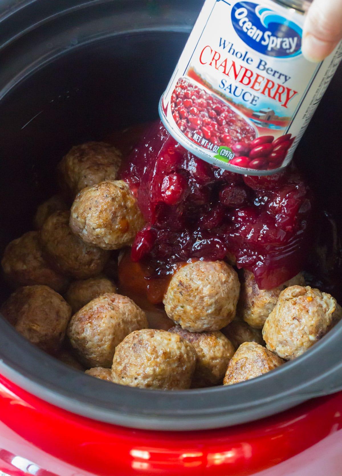 How To Make Slow Cooker Cocktail Meatballs Recipe - (Crock Pot Meatballs) #ASpicyPerspective #meatballs #slowcooker #crockpot #meatballs