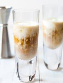 3-Ingredient Affogato Bourbon Shots Recipe #ASpicyPerspective #christmas #newyear #holiday
