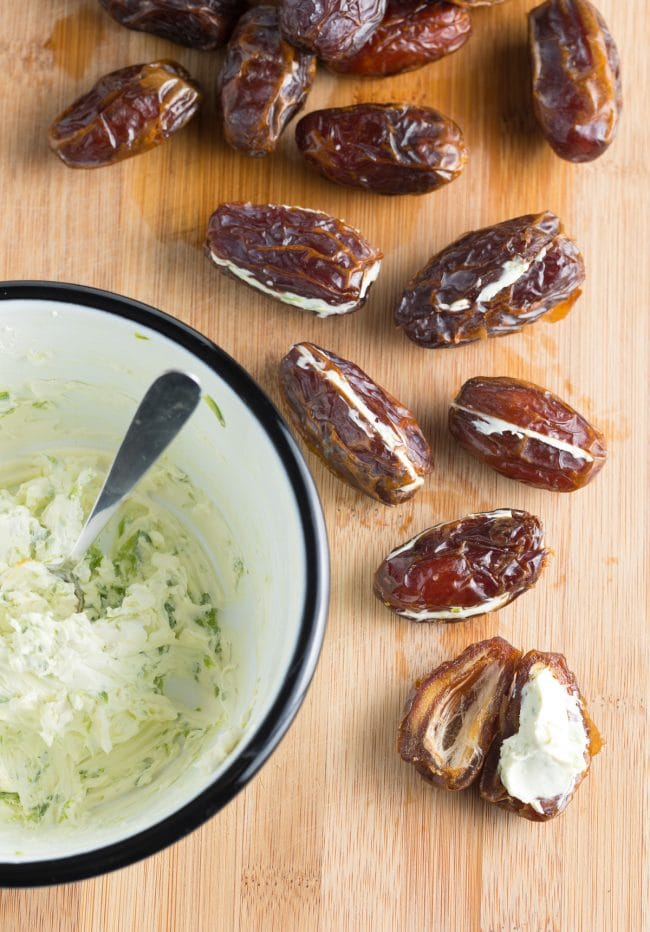 How To: Spicy Bacon Wrapped Dates with Goat Cheese Recipe #ASpicyPerspective