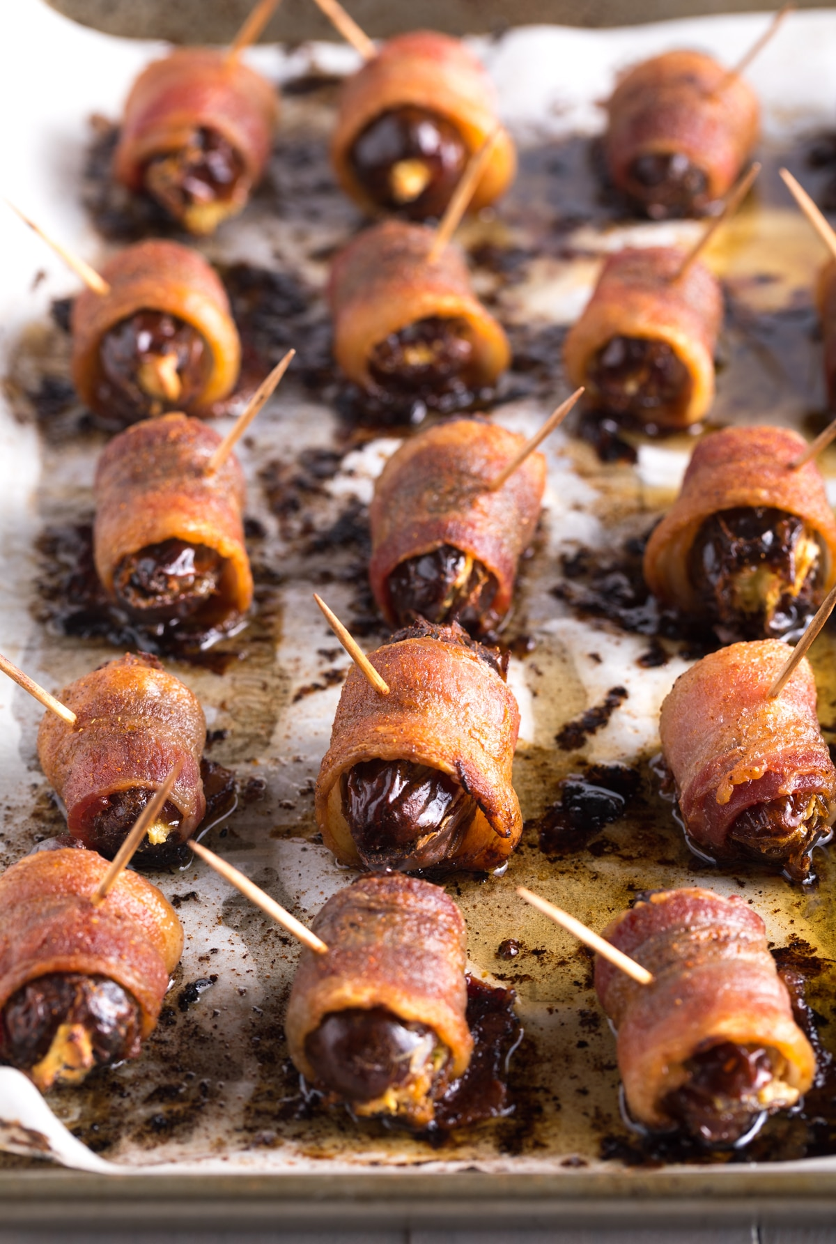 Best Bacon Wrapped Dates with Goat Cheese Recipe #ASpicyPerspective