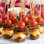 Low Carb Burger Bites Recipe #ASpicyPerspective #keto #superbowl
