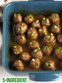 5-Ingredient Low Carb Pork Stuffed Mushrooms #ASpicyPerspective #keto