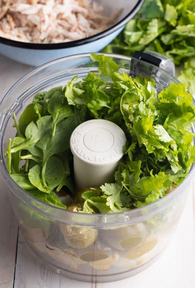 Must Make Enchiladas Suizas Recipe (Creamy Chicken Enchiladas) #ASpicyPerspective #GlutenFree