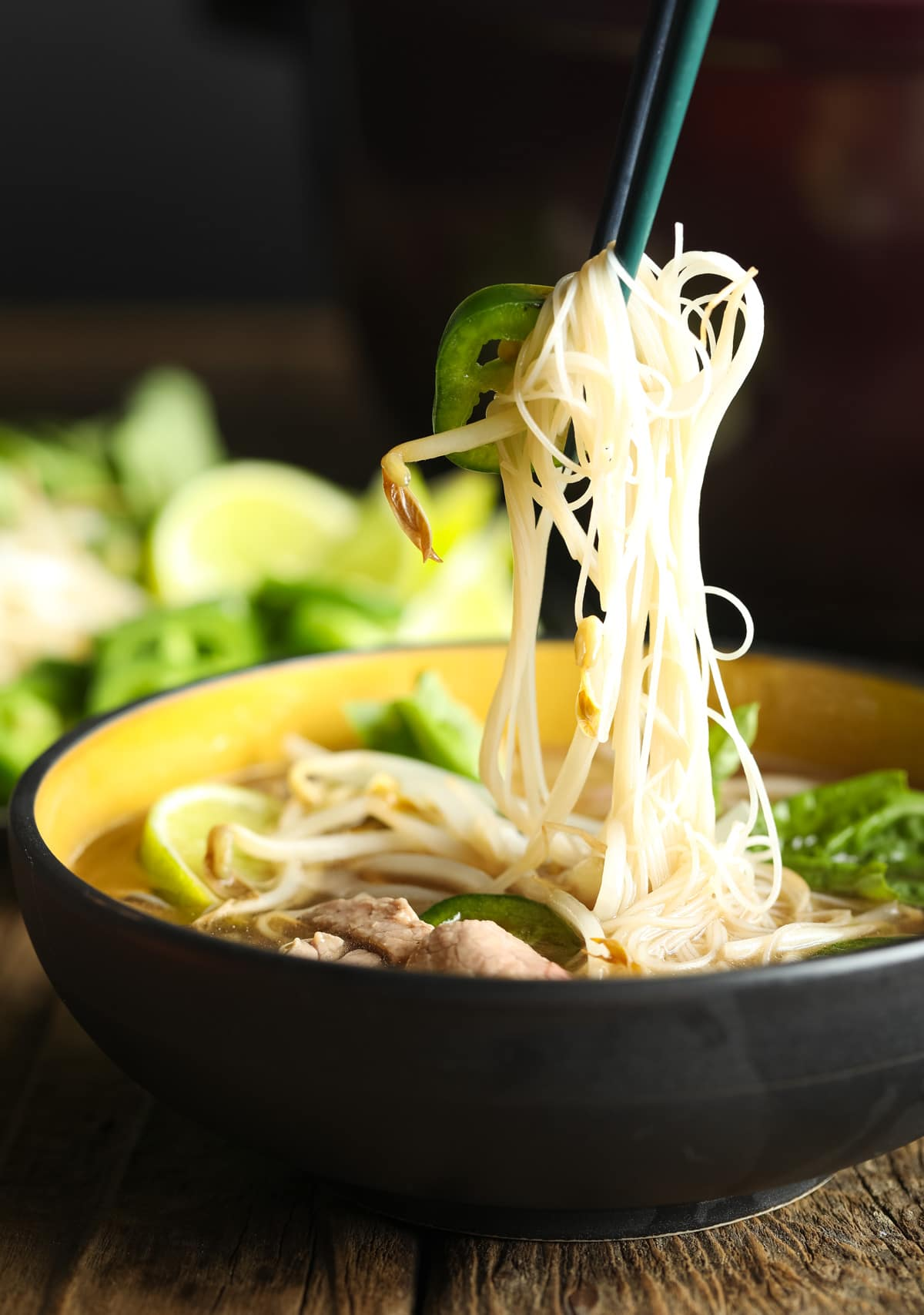 Low Carb Vietnamese Pho Soup Recipe #ASpicyPerspective #whole30 #paleo #lowcarb #keto #Soup