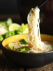 Low Carb Vietnamese Pho Recipe #ASpicyPerspective #whole30 #paleo #lowcarb #keto #Soup