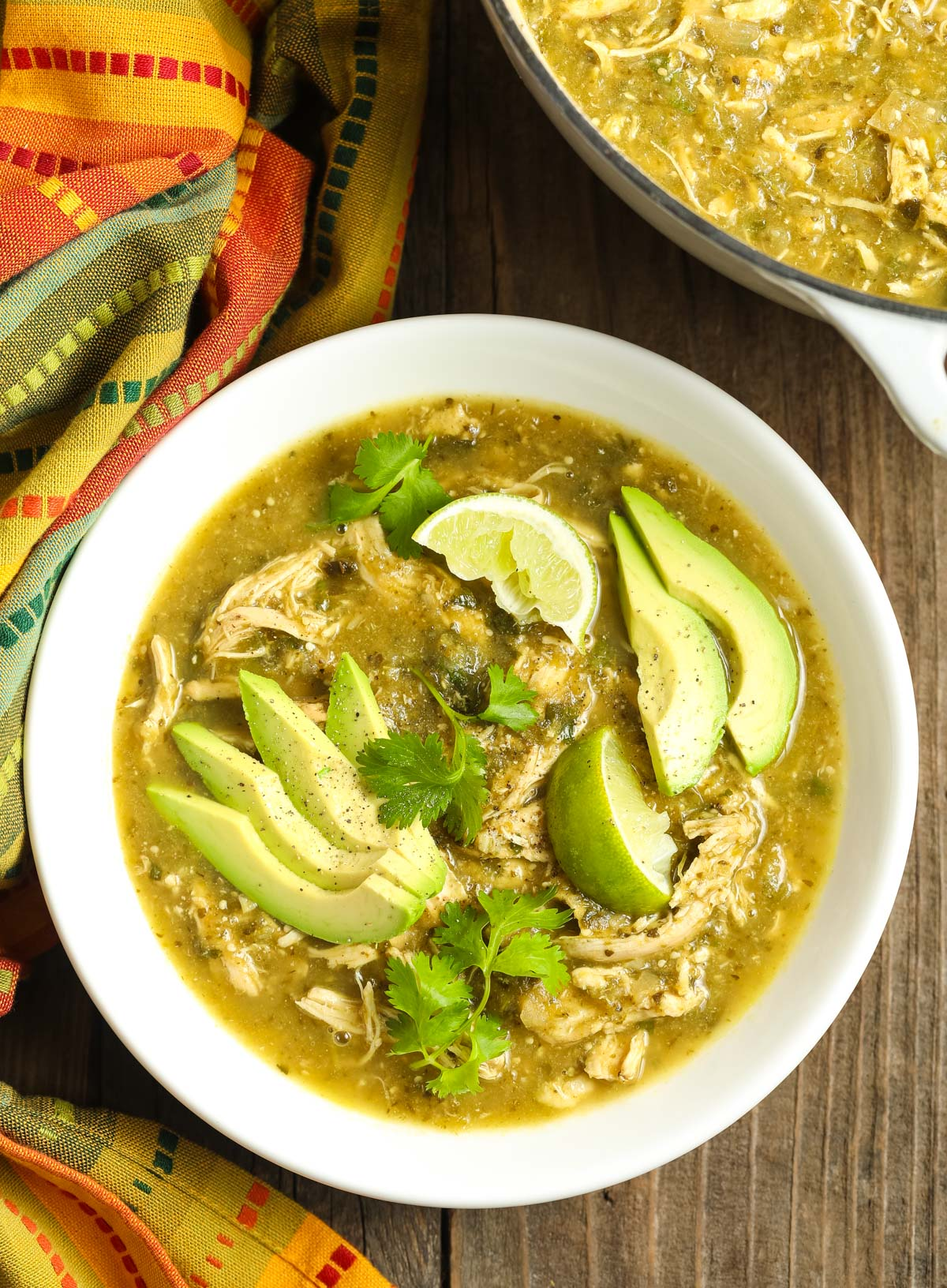 Paleo Chicken Chile Verde A Spicy Perspective