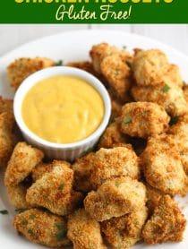 Crispy Air Fryer Chicken Nuggets Recipe (Gluten Free!) #healthy #skinny