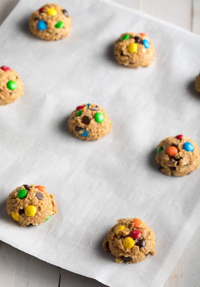 Making the BEST Monster Cookies Recipe #ASpicyPerspective #cookie #glutenfree