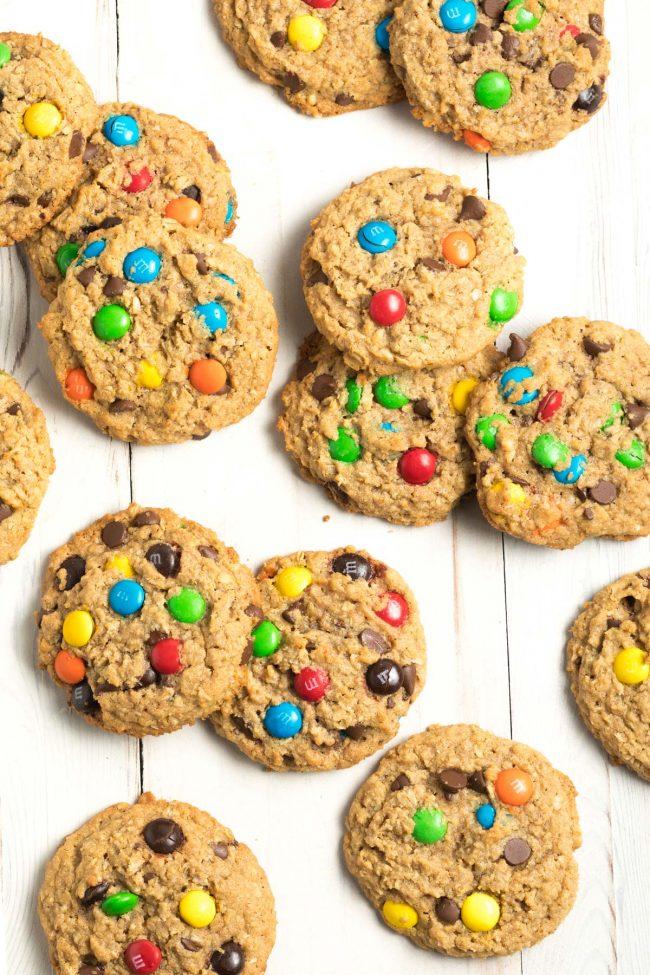 The BEST Monster Cookies Recipe #ASpicyPerspective #cookie #glutenfree