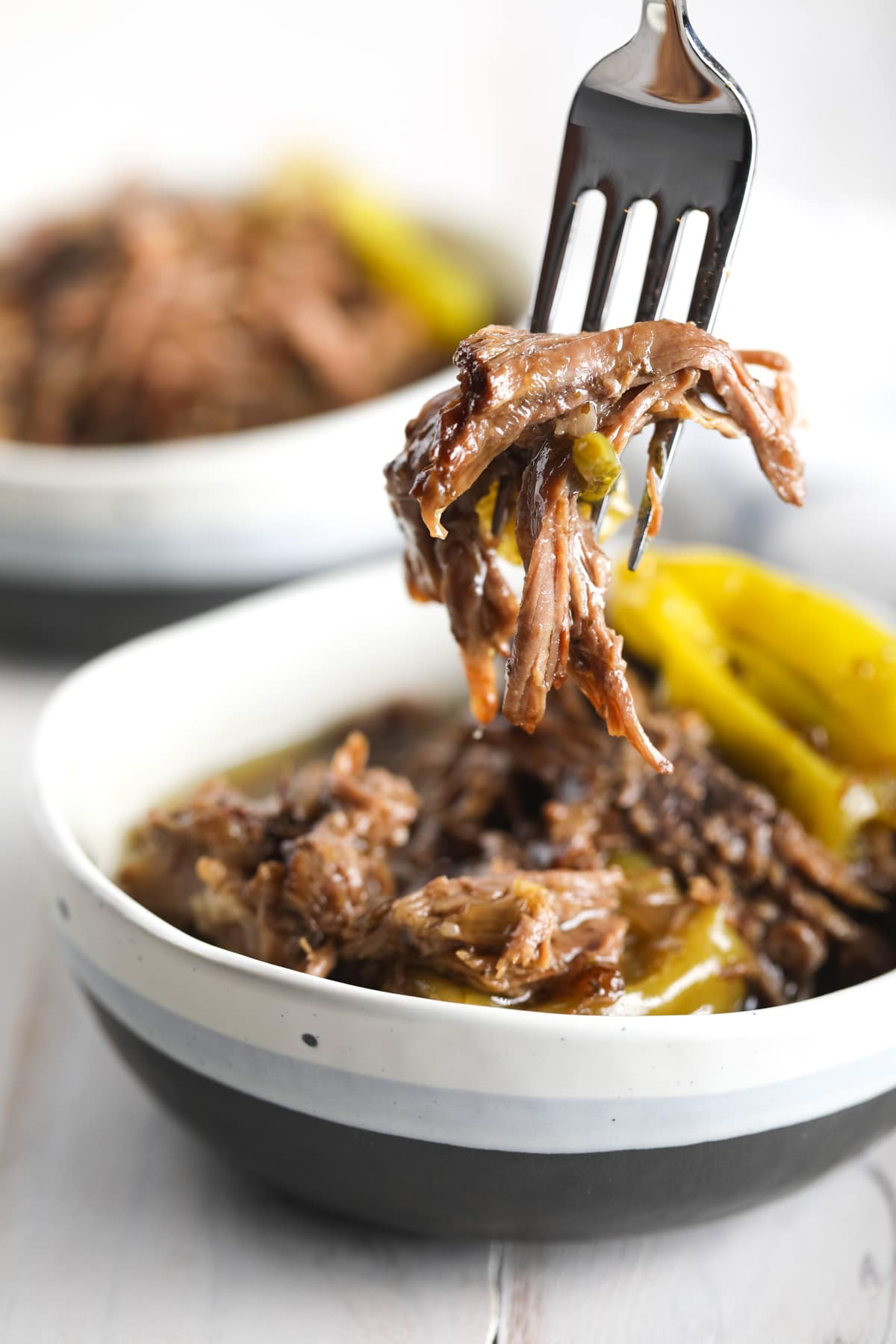 Instant Pot Italian Beef Recipe #ASpicyPerspective #pressurecooker #keto #lowcarb #paleo