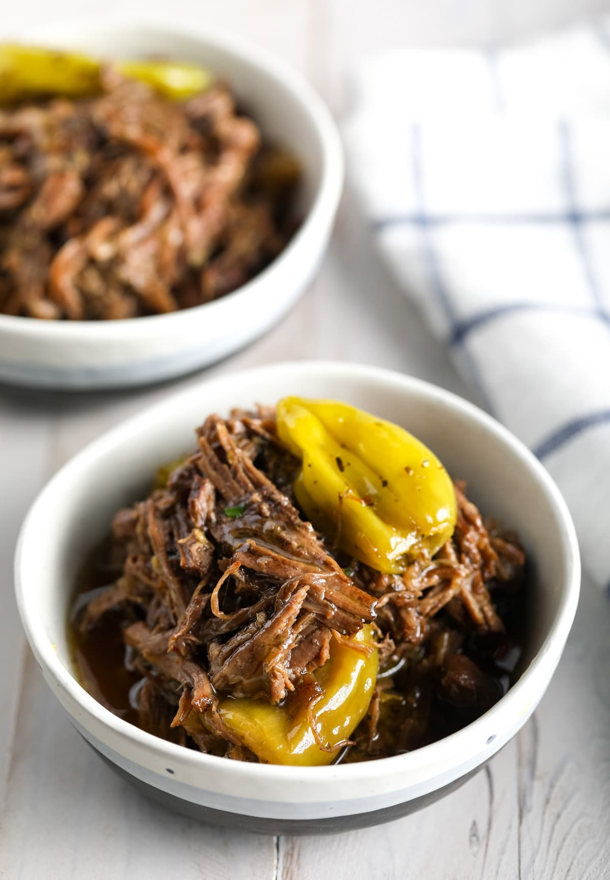 Best Instant Pot Italian Beef Recipe #ASpicyPerspective #pressurecooker #keto #lowcarb #paleo