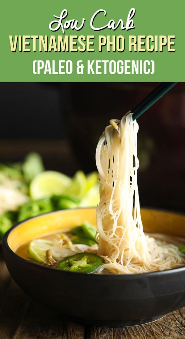 Amazing Low Carb Vietnamese Pho Recipe #ASpicyPerspective #whole30 #paleo #lowcarb #keto