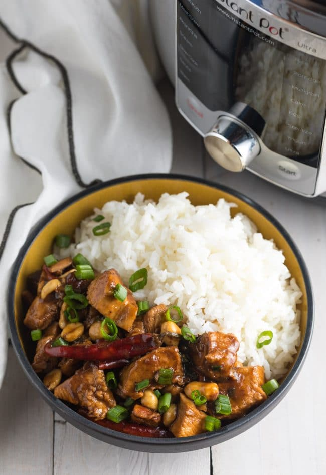 Perfect Instant Pot Kung Pao Chicken Recipe! #ASpicyPerspective #lowcarb #chinese #pressurecooker