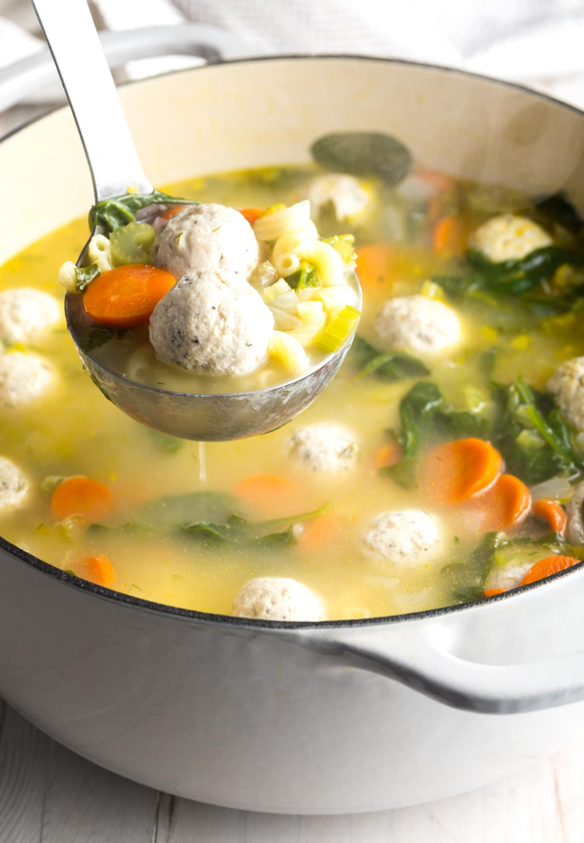 Healthy Italian Wedding Soup Video A Spicy Perspective