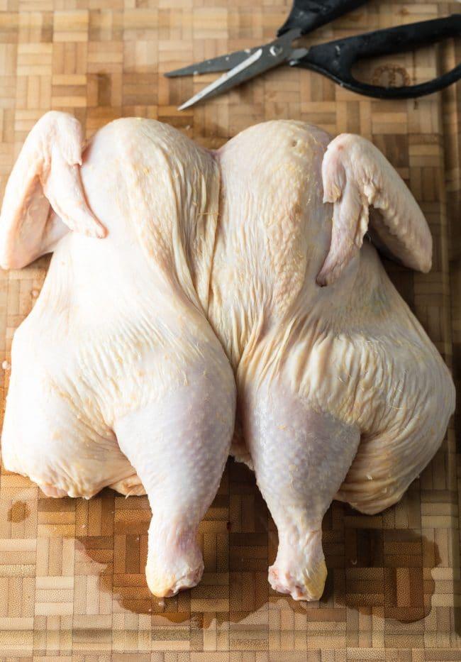 Spatchcock Chicken Recipe #ASpicyPerspective #cokechicken #easter #roasted