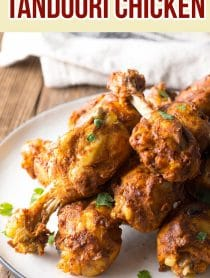 Perfect Instant Pot Tandoori Chicken Drumsticks Recipe #ASpicyPerspective #instantpot #pressurecooker #tandoori
